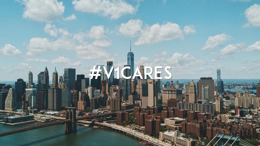 #V1Cares