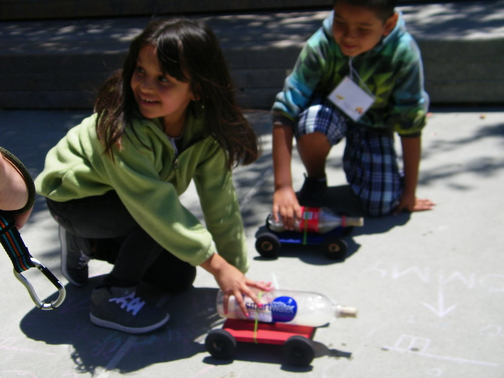 Science helps these rocket cars go a long way!