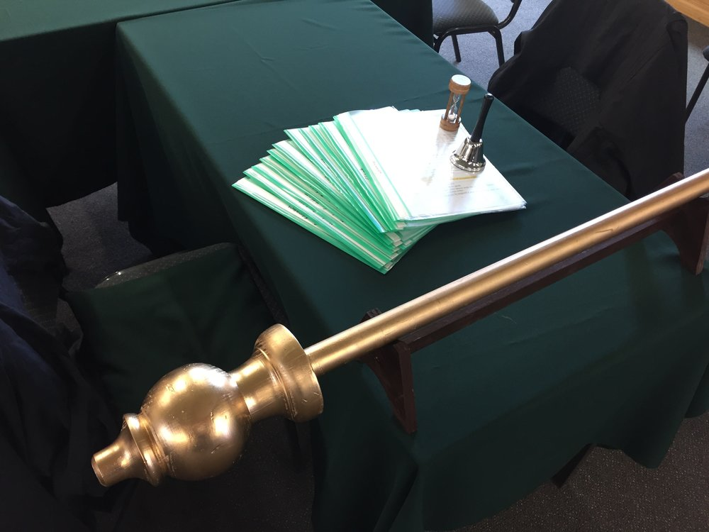 House of Representatives Mace and scripts