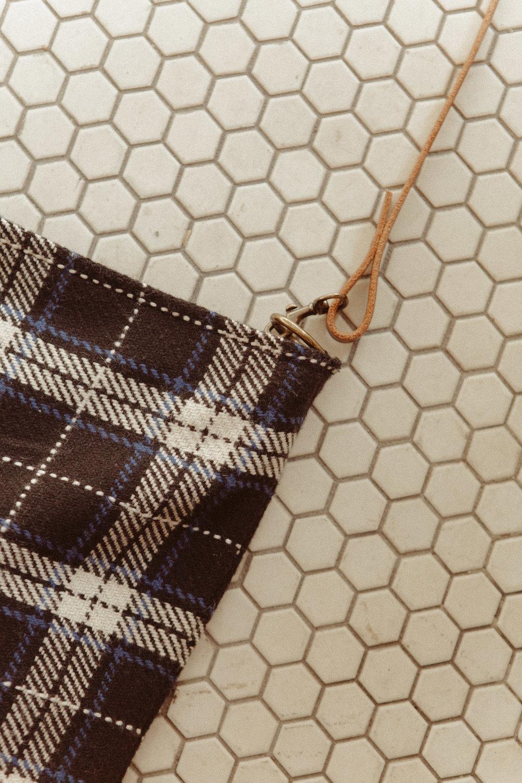 Handmade Wool Shoulder Bag $150 -