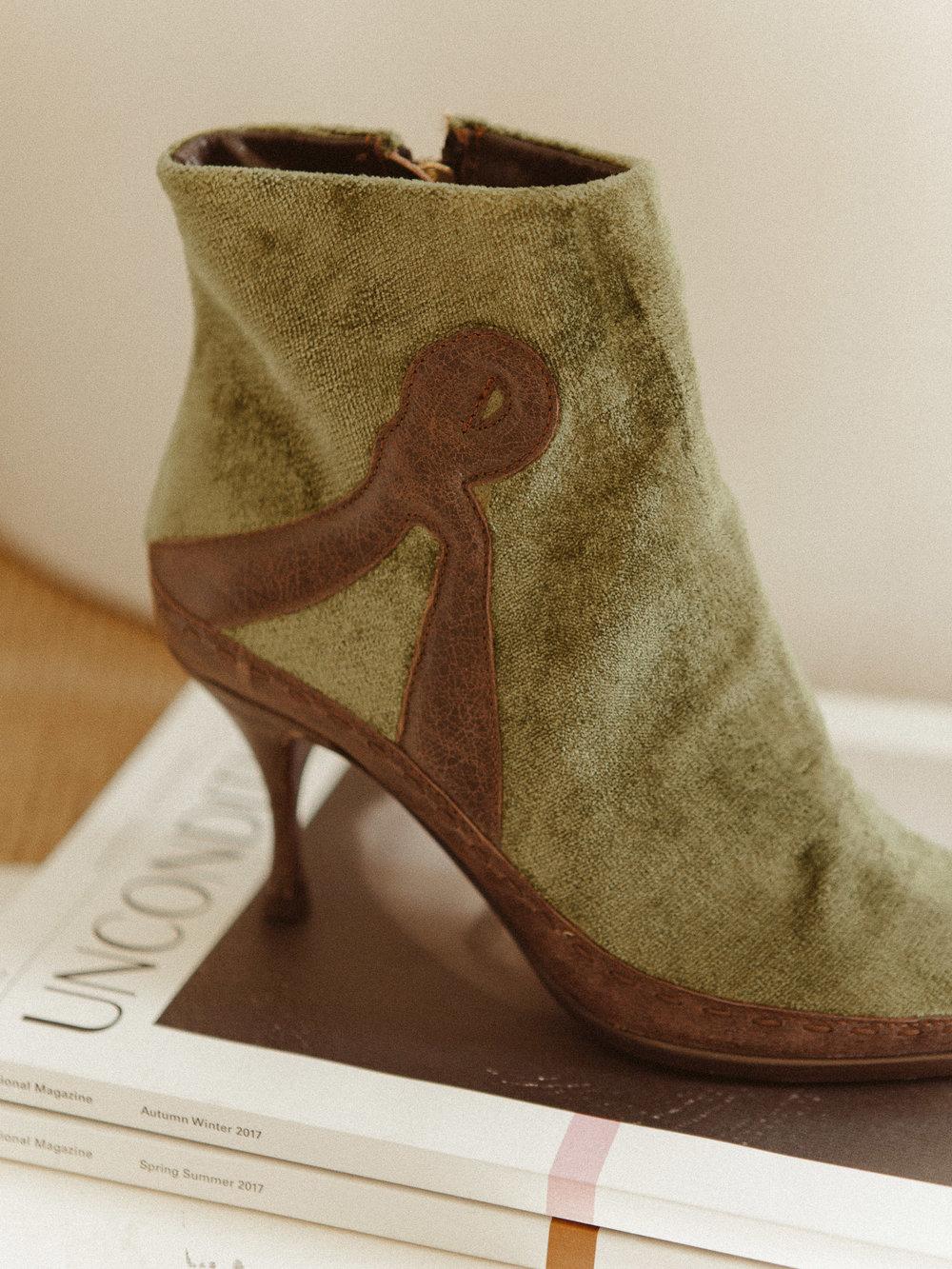 Vintage Roberta Di Camerino Booties (8 1/2) $475 -