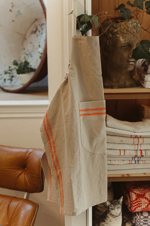 French Linen Apron $75 -