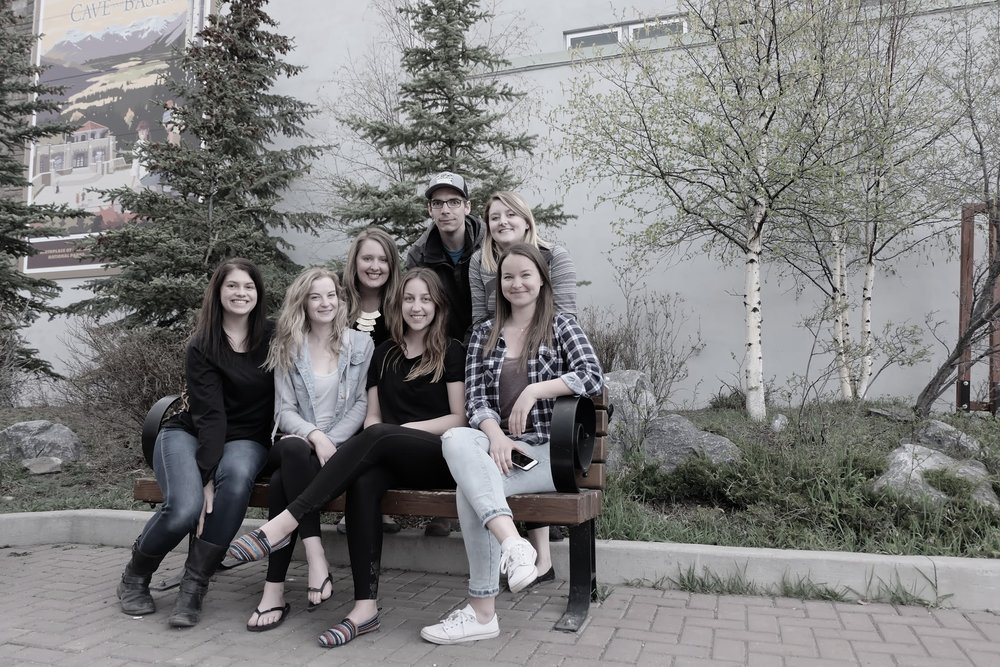 The MISS team! ( from right, top row: Abby Drimmie, Jenna Shaddick, Jeff McDonald. Bottom row: Judy Peat, Anna Podolak, Jessica Dion, Natalie Wilson. Missing from photo: Jamie Angel, Shannon Fox, Jackie Arthur)