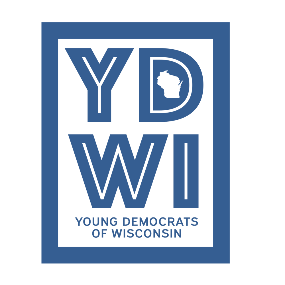 -  Membership in the Young Democrats of Wisconsin gives us greater power in our state and increases our visibility nationally. We don't have any membership fees for our young members and as a Young Dem you'll have the first opportunity to purchase merchandise, attend our events, and access opportunities to engage with campaigns and other Young Dems.