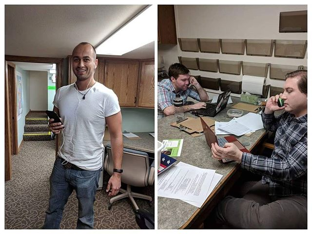 Young Dems are phone banking in Eau Claire for April 3rd. Make some calls or knock some doors to make that #BlueWave happen!