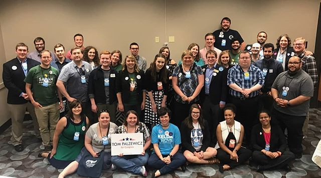 The Young Dems of WI had our annual convention yesterday with an incredible turnout! Thank you to all the candidates that came out to speak to us and to our new YDW leadership that stepped up to take the helm.  We're so excited to hit the ground running and make a big impact in 2018! #youngdemswi #wisdems18