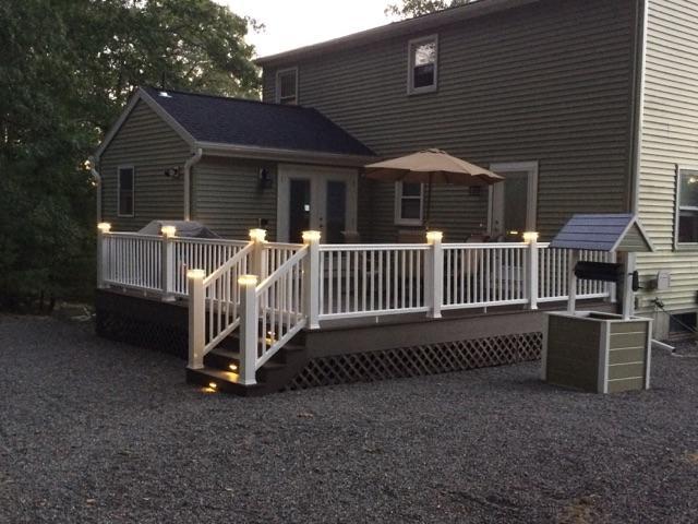 Composite Deck Remodel - Blackstone, MA