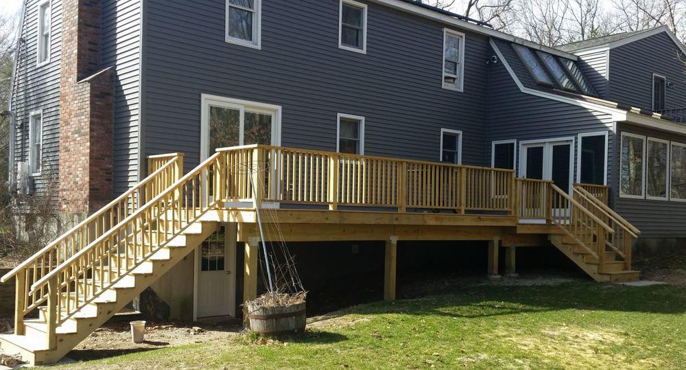 Deck Remodel - Douglas MA