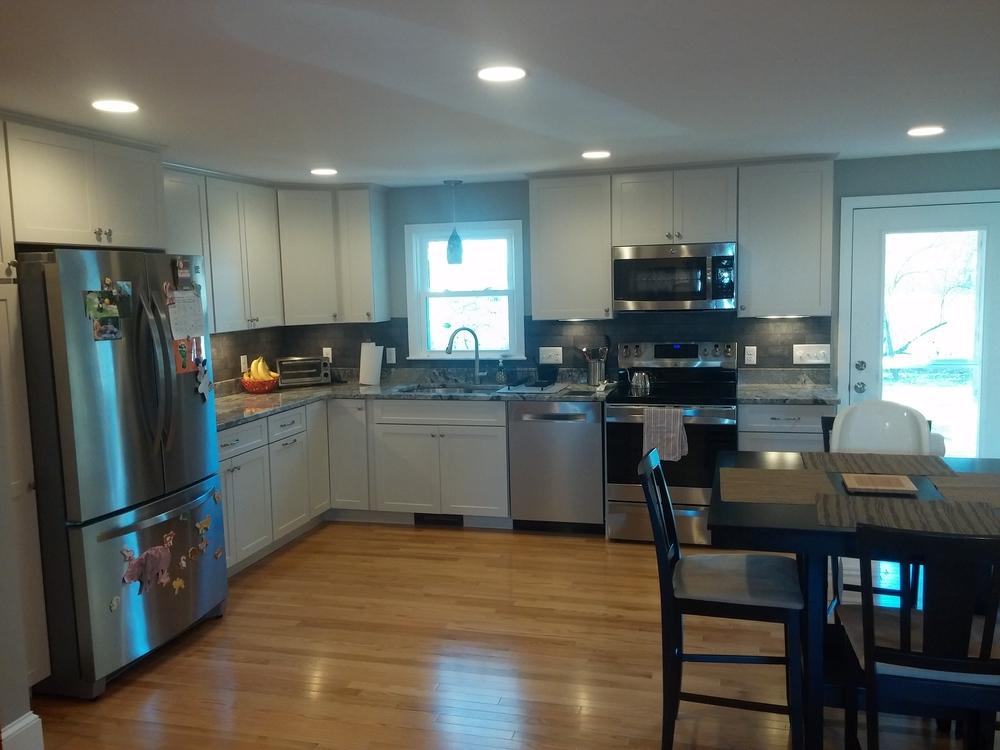 Kitchen Remodel - North Grafton MA