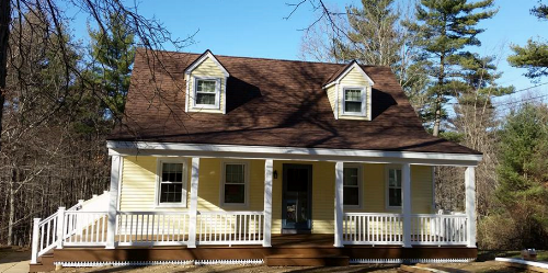 Farmer's Porch with Siding, Windows and Door Replacements - Charlton MA
