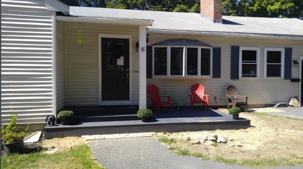 Ground level Deck - Framingham MA