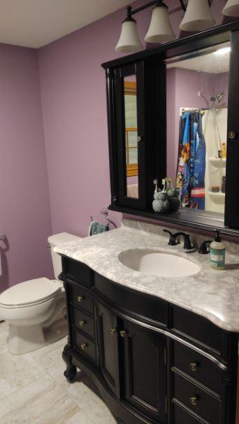 Three Bathroom Remodels - Marlborough MA