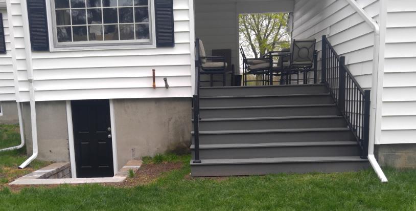 Composite Deck/Breezeway - Auburn MA