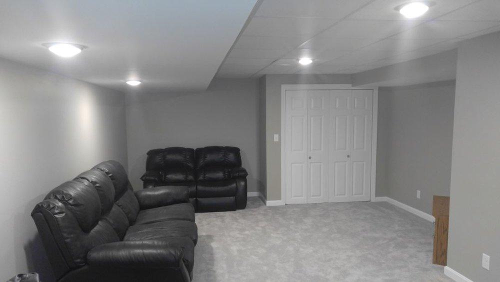 Basement Renovation/Remodel - Ashland MA