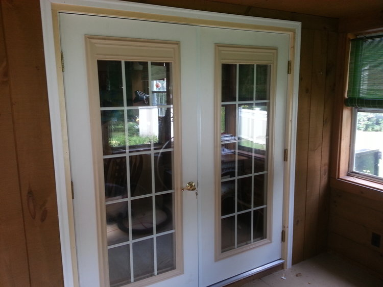 French Door Install - Marlborough MA