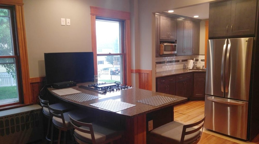 Kitchen Renovation/Remodel - Worcester MA Early 1900's Home