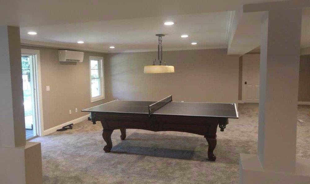 Basement Renovation/Remodel - Natick MA