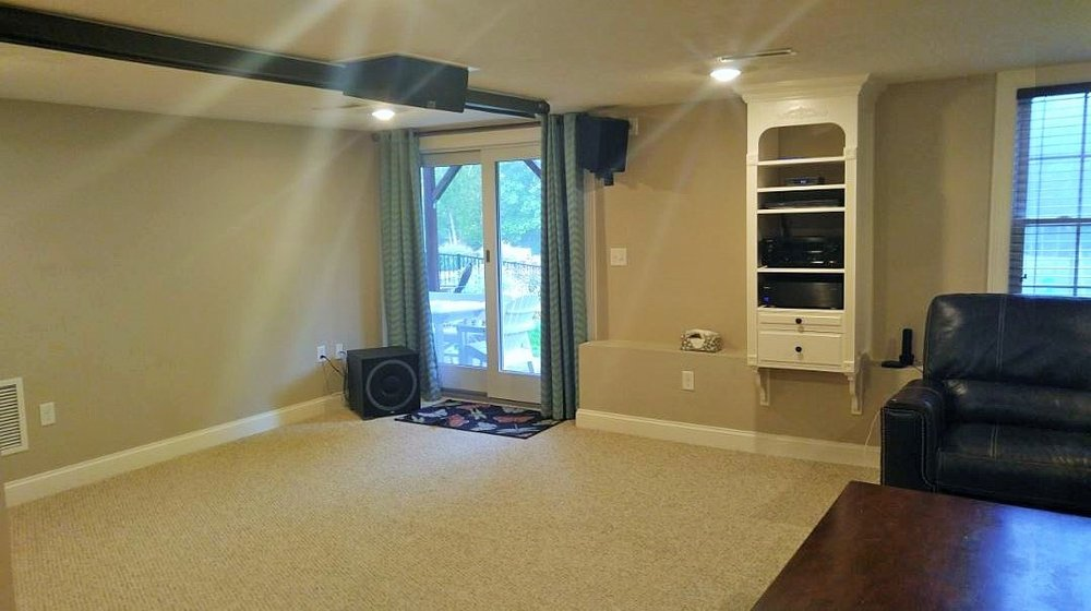 Basement Remodel - Stow MA