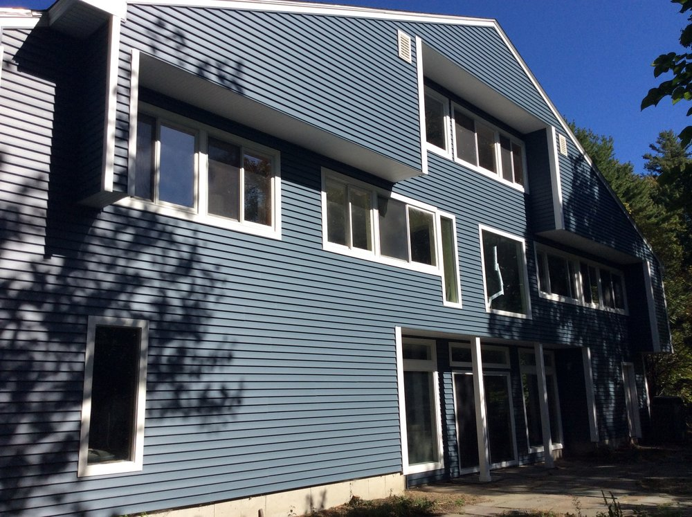 Vinyl Siding and Deck Replacement - Sherborn MA