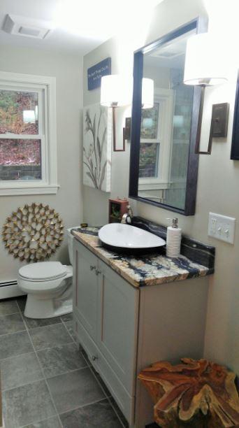 Upscale Bathroom Renovation/Remodel - Westborough MA
