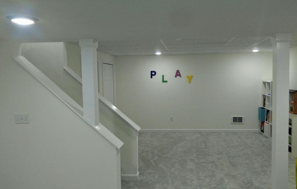 Basement Renovation/ Southborough MA