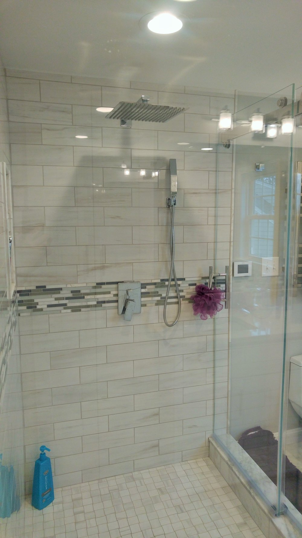 Upscale Bathroom Renovation/Remodel - Shrewsbury MA