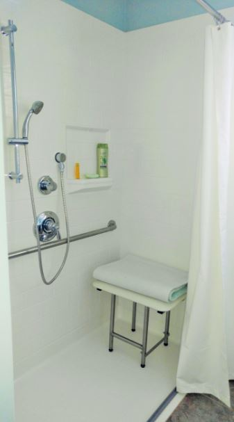 ADA Bathroom Remodeling Project - Hudson MA
