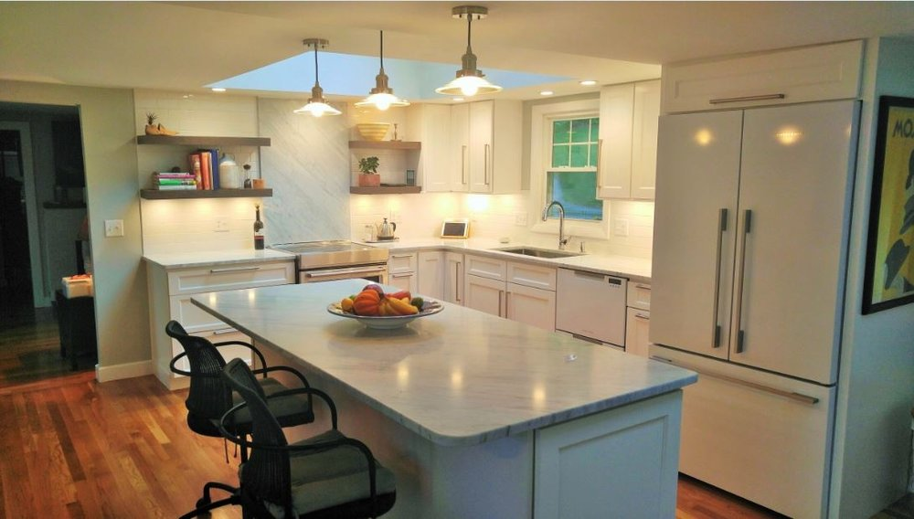 Kitchen Remodel/Lake Cottage - Shrewbury, MA