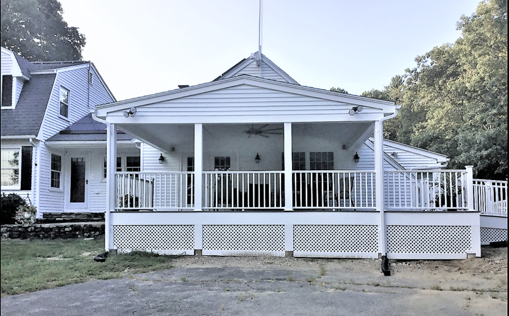VA ADA Porch/Deck w/ Portico Roof - Mendon MA