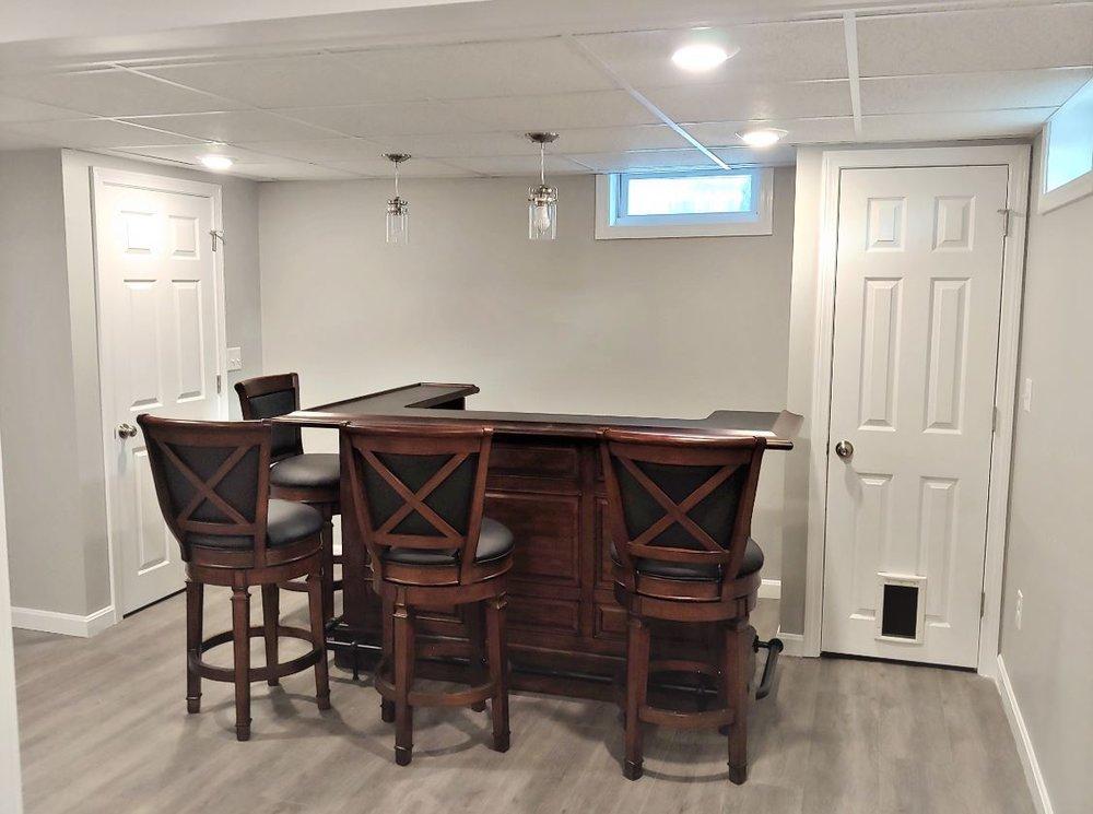 Basement Renovation/ Remodel  Webster MA
