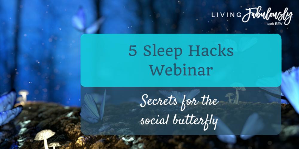 5 sleep hacks that will make busy people smile webinar