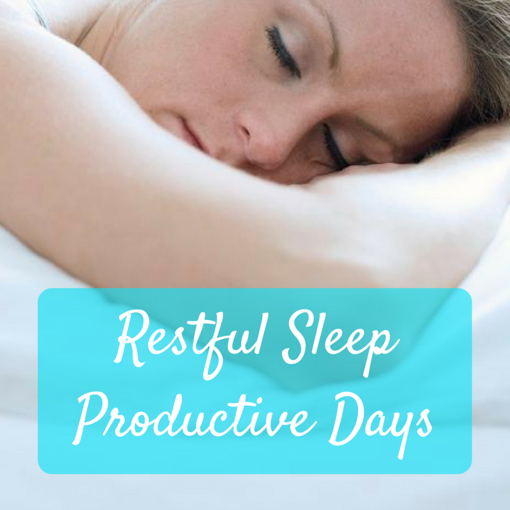 Restful sleep productive days with Bev Roberts from Living Fabulously