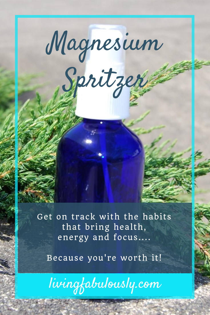 Magnesium Spritzer Recipe from Living Fabulously with Bev