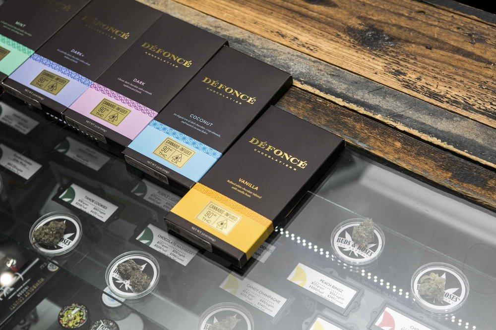 THC chocolate Defonce