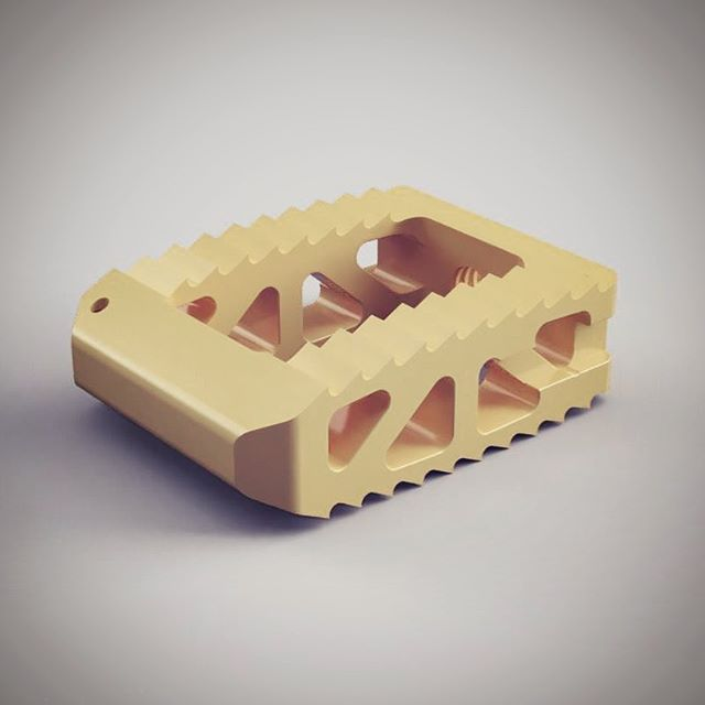 New Product Announcement! We are now offering custom PEEK cages for veterinarians who are looking for robust stabilization or vertebral fusion! They can be made in any size and shape and are hollow to allow for bone graft to be added. Send us a message to learn more!