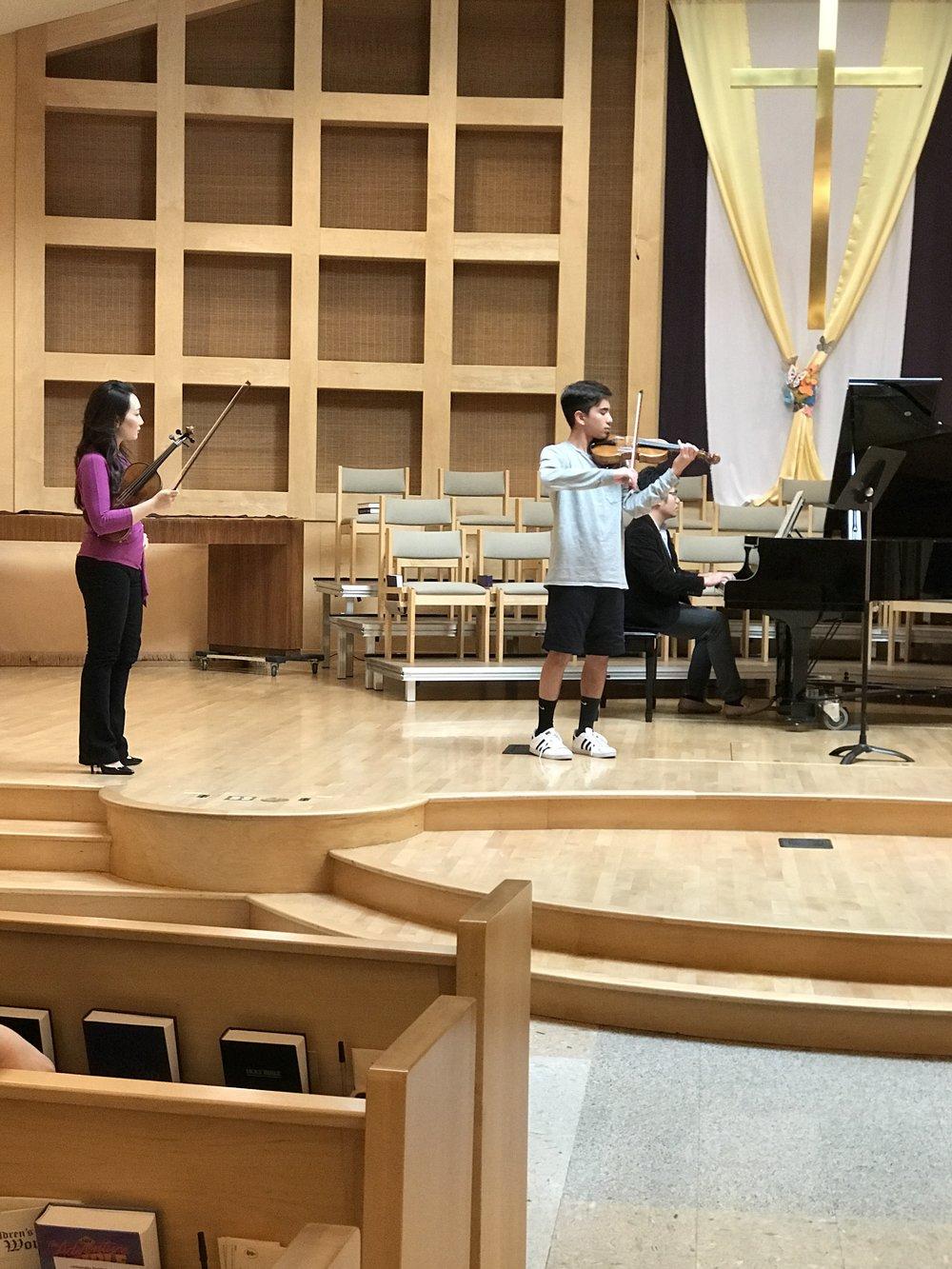 Violin Masterclass with Eunice Keem