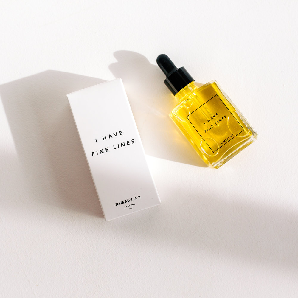 - I HAVE FINE LINES face oil$43