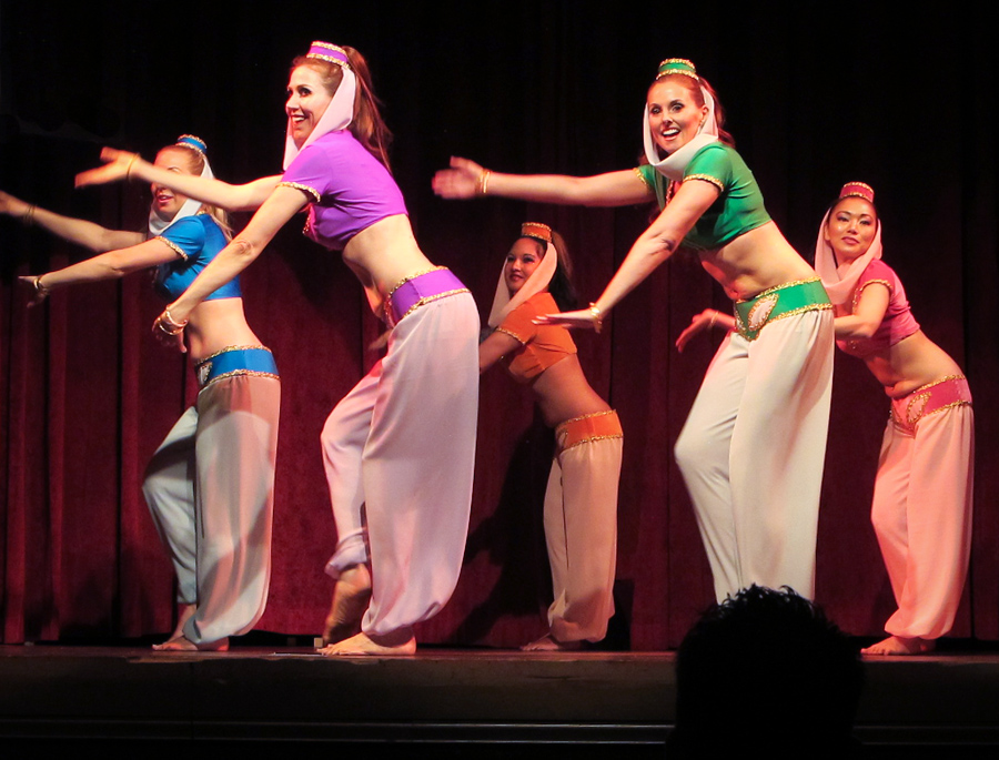Belly Dance Jeannies