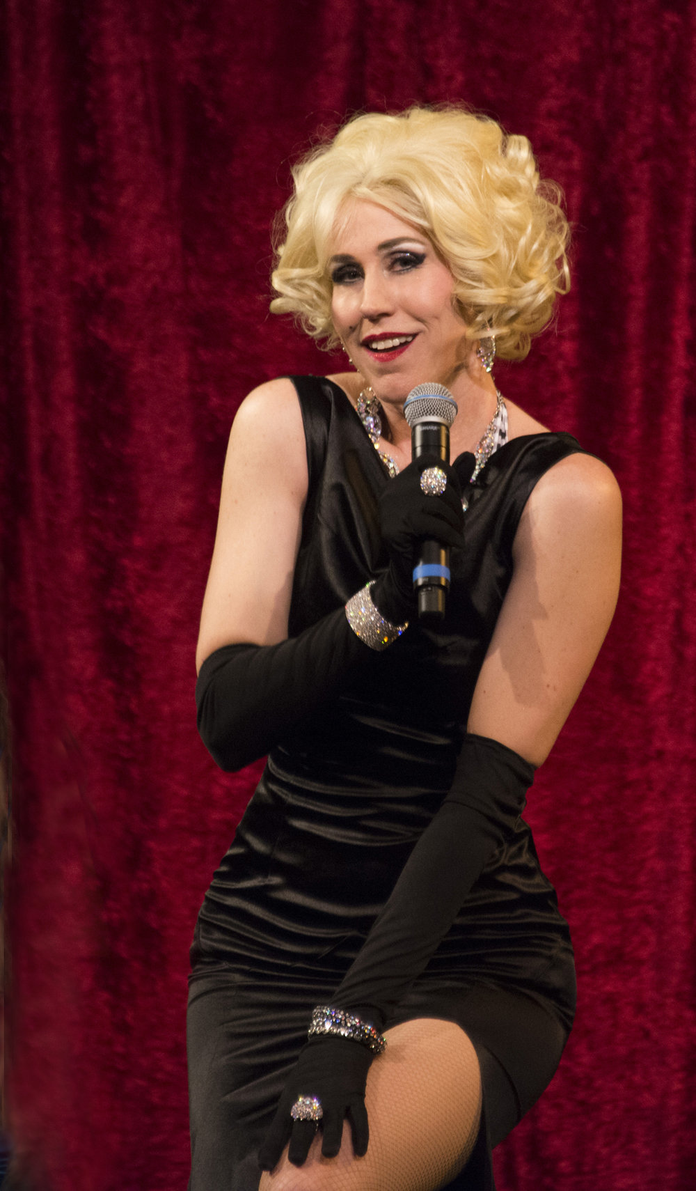 """- """"Creating an experience, a night out, was my foremost goal,"""" says Mellilah, the producer and director of the Over the Pop: A Cabaret. """"My intention was to create light-hearted, classic entertainment with non-stop dancing, singing and comedy — a fast-paced cabaret-style show performed in an airy space where my guests could move about, socialize and have a drink! It's classy adult entertainment and unlike a traditional burlesque production, the clothes stay on."""""""