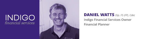 Daniel Watts Indigo Financial Services Photo & Qualifications