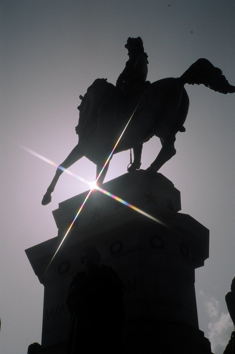 George Washington Monument, Capitol Square, Richmond Virginia