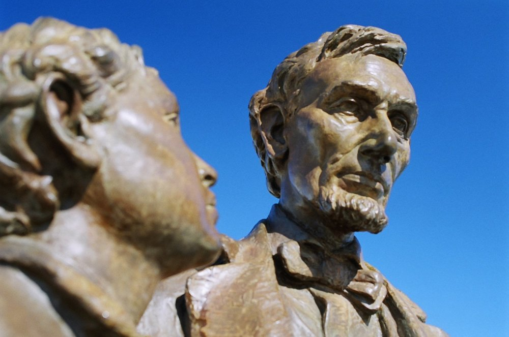 Abraham Lincoln Statue, Tredegar Iron Works, Richmond, Virginia