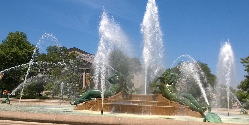 Logan Fountain, Philadelphia, PA