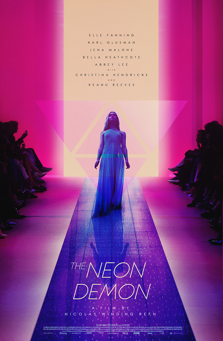 The Neon Demon · Nicolas Winding Refn (2016) · Client: Personal (2016)