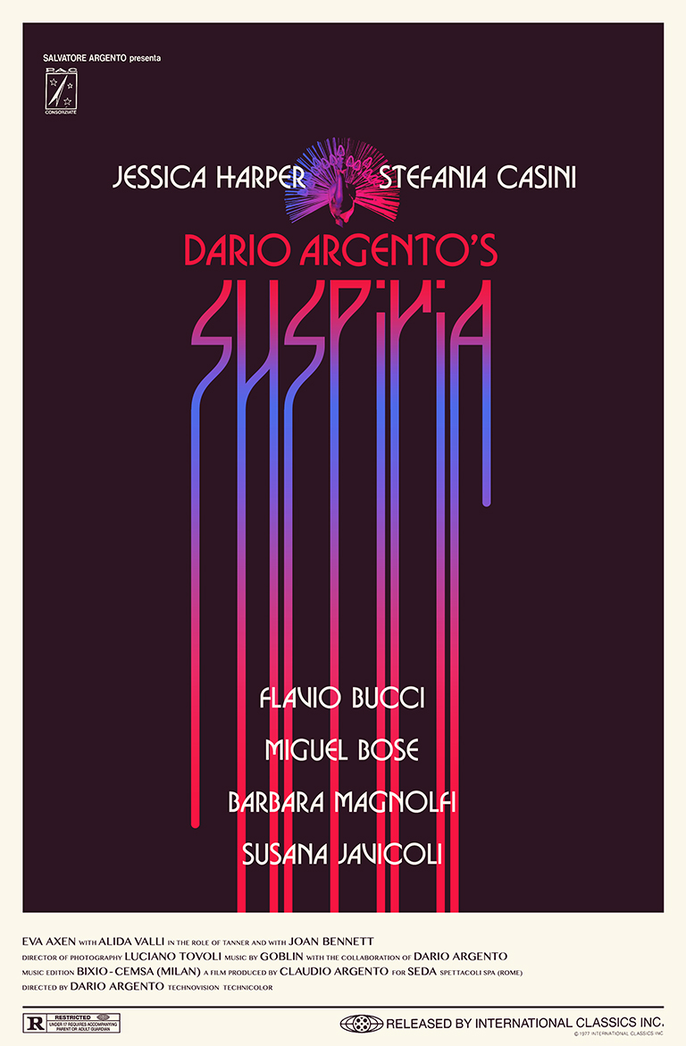 Suspiria · Dario Argento (1977) · Client: Personal (2016)