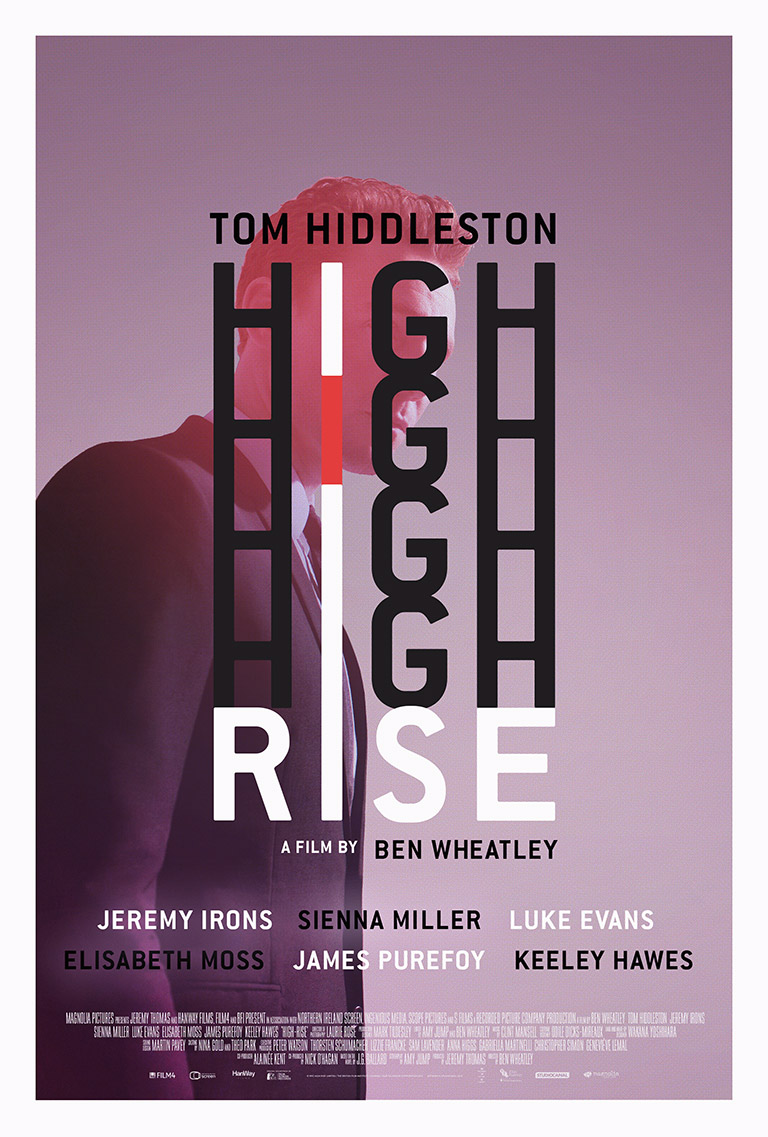 High-rise · Ben Wheatley (2015) · Client: Personal (2016)