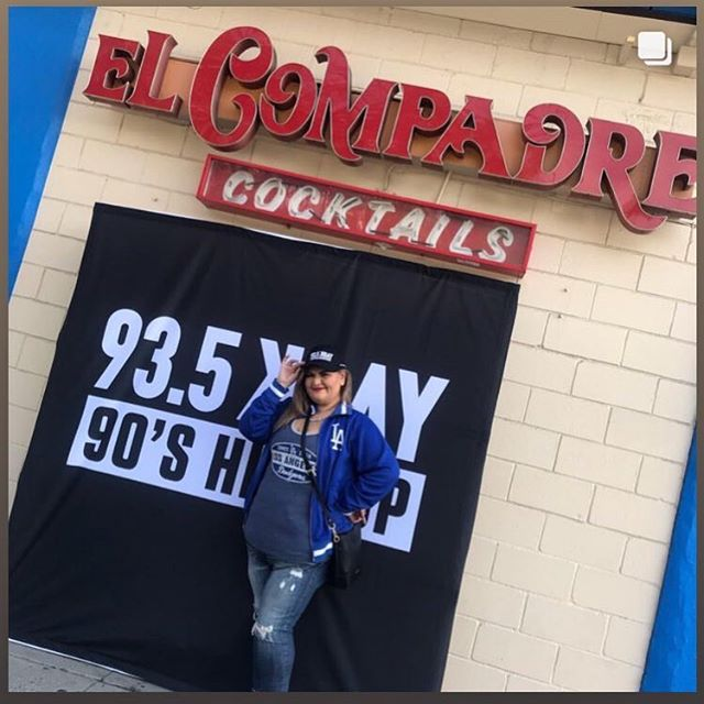 Only at our Echo Park location‼️ 1449 Sunset Blvd, La 90026 #openingday #dodgers #flamingmargarita