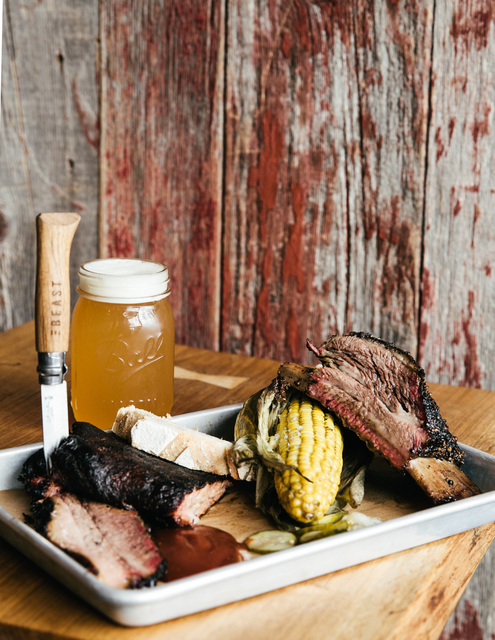 THE BEAST  27 Rue Meslay, 75003   INSIDER TIP  | If  Paris  knows a thing or two about barbecue today it's entirely thanks to  T he Beast, who brought the best of Texas style brisket, ribs and comforting sides to the city. Be sure to order the  @deckdonohue  beer on tap, a brew exclusive to The Beast!    PHOTO TIP  | It's all in the tray. Fill your platter to the brim and consider sides that add depth and color to the photo (like corn on the cob instead of beans). Slip in their branded Opinel knife to convey the idea that this is a spot where you dig in.