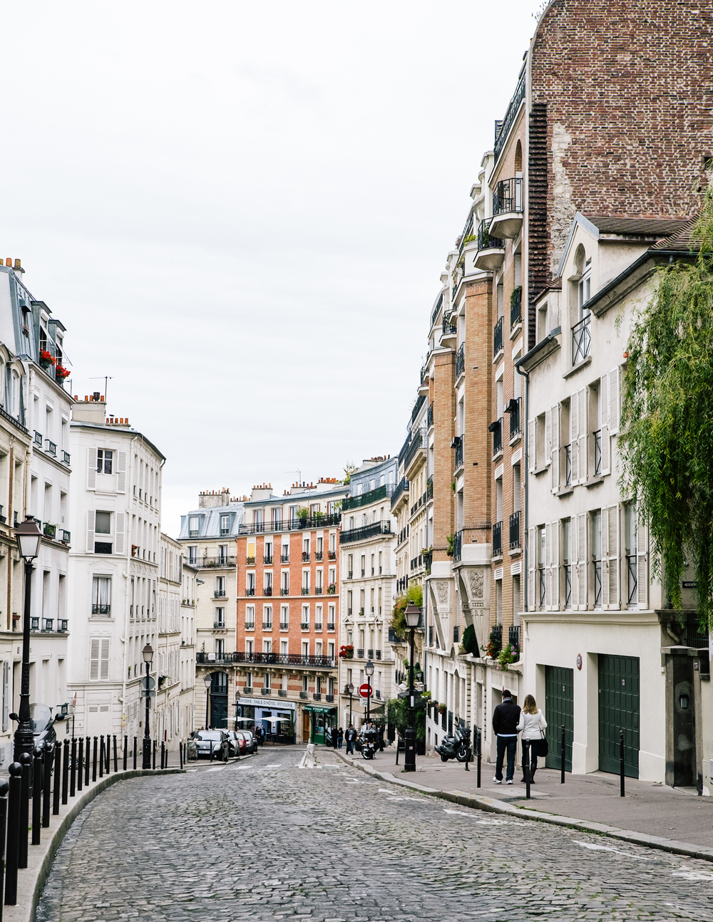 RUE LEPIC  75018   INSIDER TIP  | There's a reason people say that Montmartre feels like a village, separate from the rest of Paris. One of the best introductions to this feeling is on rue Lepic, which winds all the up toward Sacré Coeur. Take a leisurely stroll and admire the view.