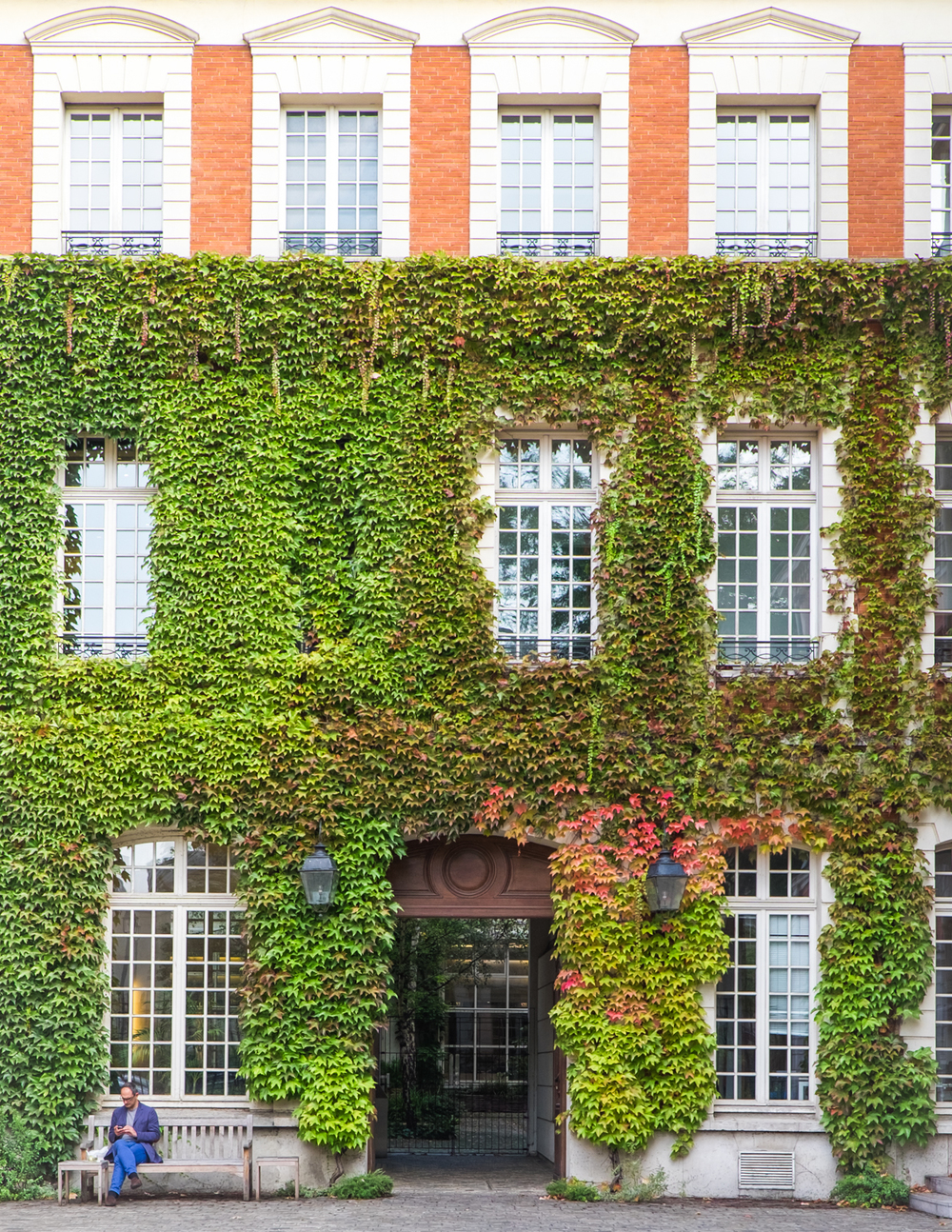 RUE DU PARC ROYAL, 75004    INSIDER TIP  | Walk too quickly on rue du Parc Royal in the Marais and you might miss this green stunner.     PHOTO TIP  | The best moment to photograph the building is between spring and fall when the leaves are at their most lush.